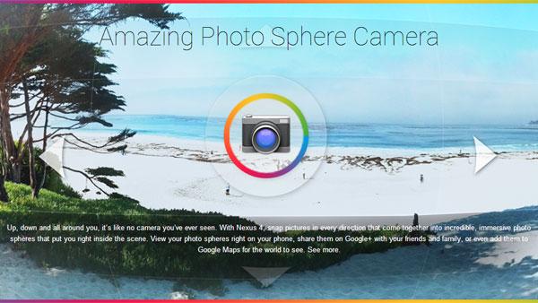 Photo Sphere Camera, la versión para iOS de Google Camera