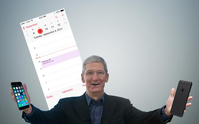 Ya tenemos las posibles fechas de presentación del iPhone 6
