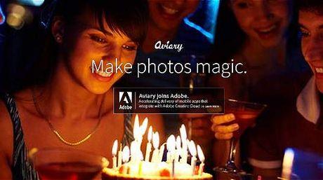 Conoce Adobe adquiere Aviary, un editor de fotografías en línea