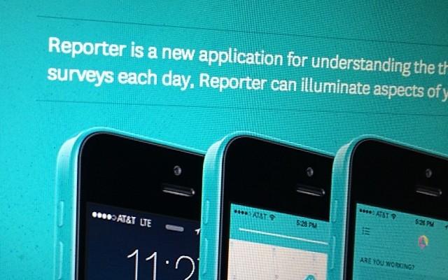 Reporter, la aplicación que monitoriza tu vida