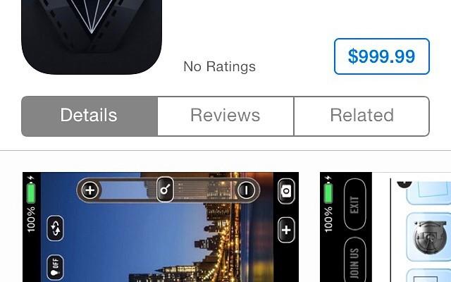 Vizzywig 4K, la app que cuesta 1.000 dólares