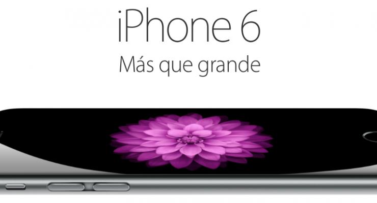 Así son los nuevos iPhone 6 y iPhone 6 Plus, más grandes.