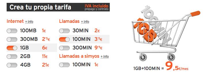 Simyo relanza su tarifa configurable con nuevos bonos de minutos y megas