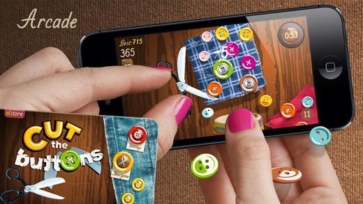 Cut the bottons, el nuevo juego adictivo para iOS