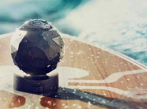 360fly es una cámara que no pierde detalle en 360 grados