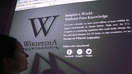 Monumento en honor de Wikipedia