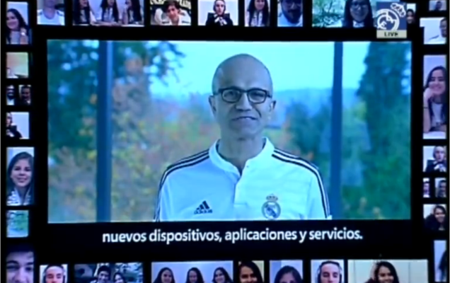 Microsoft consigue un contrato publicitario con el Real Madrid para introducir Surface