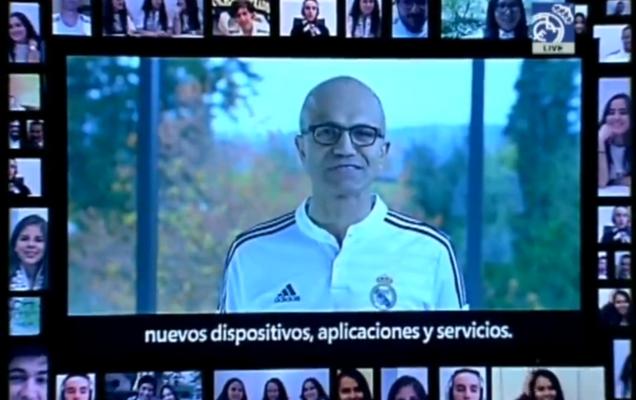 Microsoft consigue un contrato publicitario con el Real Madrid para introducir Surface