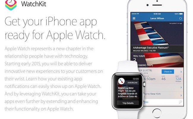 Apple lanza la beta de iOS 8.2 y WatchKit