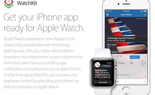 Apple lanza la beta de iOS 8.2 y WatchKit